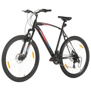 """vidaXL Brdski bicikl 21 brzina kotači od 29 """" okvir od 53 cm crni"""