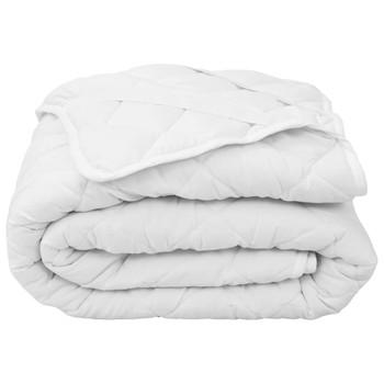 vidaXL Zaštitni prekrivač za madrac bijeli 140 x 200 cm lagani