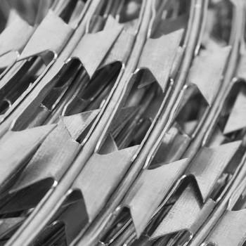 vidaXL NATO rolana bodljikava žica od pocinčanog čelika 300 m
