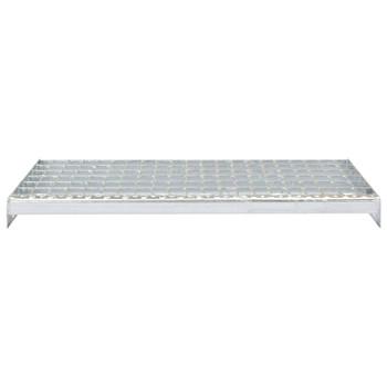 vidaXL Gazišta za stepenice 4 kom od pocinčanog čelika 700 x 240 mm