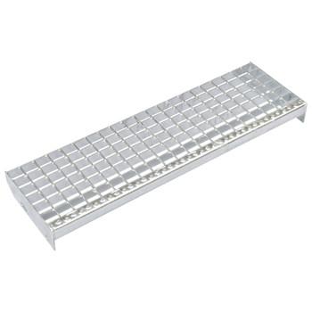 vidaXL Gazišta za stepenice 4 kom od pocinčanog čelika 800 x 240 mm