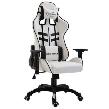 vidaXL Igraća stolica od umjetne kože crna