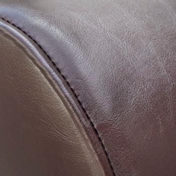 vidaXL Ležaj od Umjetne Kože Smeđi