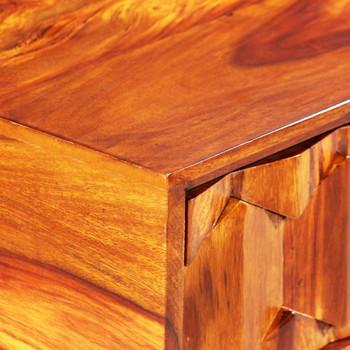 vidaXL Pisaći stol od masivnog drva šišama 118 x 50 x 76 cm