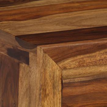 vidaXL Pisaći stol od masivnog drva šišama 110 x 55 x 76 cm