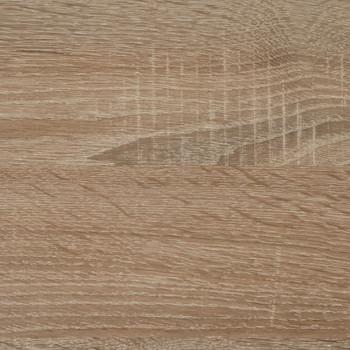 FMD zidna vješalica za kapute 72 x 29,3 x 34,5 cm boja hrasta