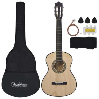 """vidaXL 8-dijelni početnički set klasične gitare za djecu 1/2 34"""""""