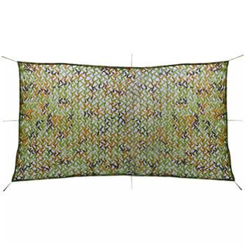 vidaXL Kamuflažna mreža s torbom za pohranu 4 x 8 m