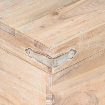 vidaXL Åkrinja od masivnog bagremovog drva 40 x 40 x 40 cm