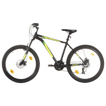 """vidaXL Brdski bicikl 21 brzina kotači od 27,5 """" okvir od 42 cm crni"""