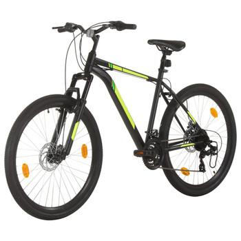 """vidaXL Brdski bicikl 21 brzina kotači od 27,5 """" okvir od 50 cm crni"""