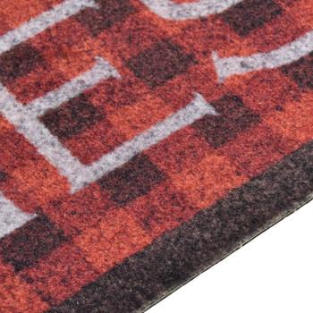 vidaXL Kuhinjski tepih s uzorkom rajčica perivi 45 x 150 cm