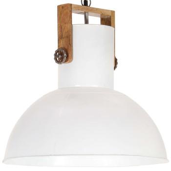 vidaXL Industrijska viseća svjetiljka 25 W bijela okrugla 52 cm E27