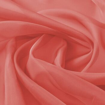 vidaXL Voal Tekstil 1,45x20 m Crveni