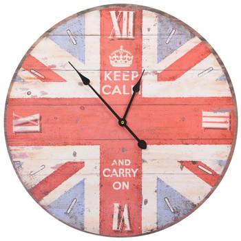 vidaXL Starinski zidni sat UK 60 cm