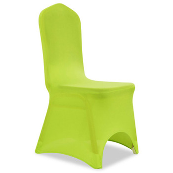 Rastezljive navlake za stolice 4 kom Zelena boja