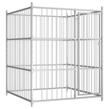 Vanjski kavez za pse 150 x 150 x 185 cm