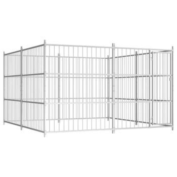 Vanjski kavez za pse 300 x 300 x 185 cm