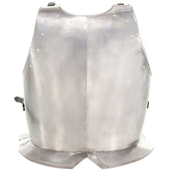 Replika srednjovjekovnog viteškog oklopa LARP srebrna čelična