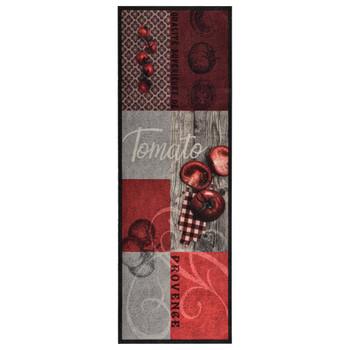 Kuhinjski tepih s uzorkom rajčica perivi 60 x 300 cm