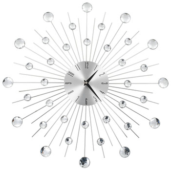 Zidni sat s kvarcnim mehanizmom moderni dizajn 50 cm