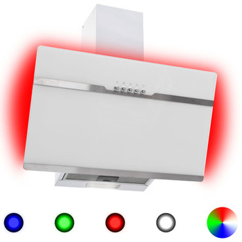 RGB napa LED 60 cm od nehrđajućeg čelika i kaljenog stakla
