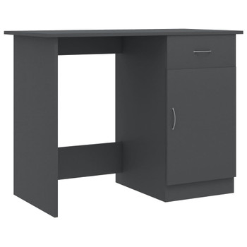 Radni stol sivi 100 x 50 x 76 cm od iverice