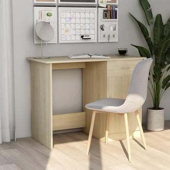 Radni stol boja hrasta sonome 100 x 50 x 76 cm od iverice