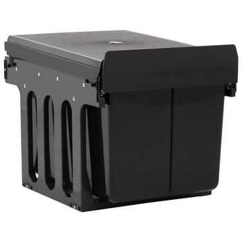 vidaXL Kanta za otpatke na izvlačenje za kuhinjski ormarić 48 L