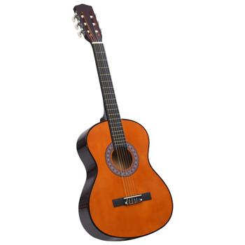 """vidaXL Klasična gitara za početnike i djecu 3/4 36"""" od drva lipe"""