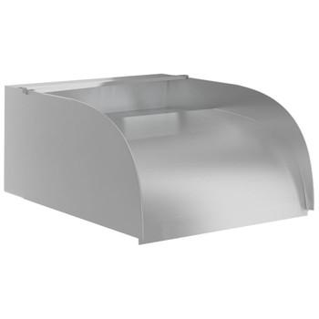 vidaXL Vodopad s LED svjetlima 30 x 34 x 14 cm nehrđajući čelik 304