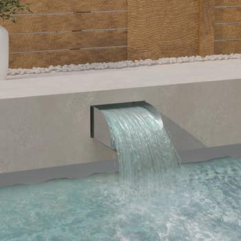 vidaXL Vodopad 30 x 34 x 14 cm od nehrđajućeg čelika 304