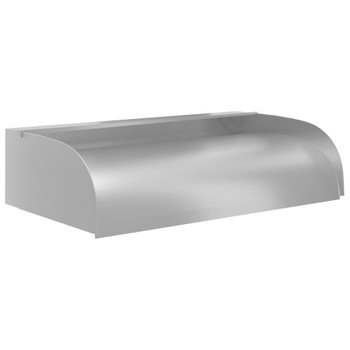 vidaXL Vodopad s LED svjetlima 60 x 34 x 14 cm nehrđajući čelik 304