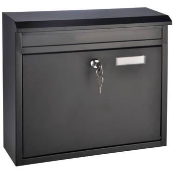 HI poštanski sandučić crni 36 x 12 x 32 cm