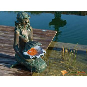 Ubbink vodeni objekt OSLO brončani i boja zelene patine