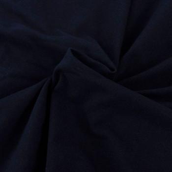 vidaXL Rastezljiva Presvlaka za Kauč Crna Pamučni Žersej