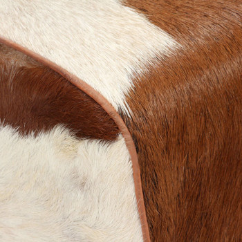 vidaXL Tabure od prave kozje kože 40 x 30 x 45 cm