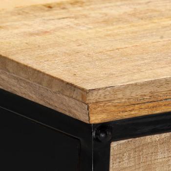 vidaXL Pisaći stol od masivnog drva manga 110 x 50 x 76 cm