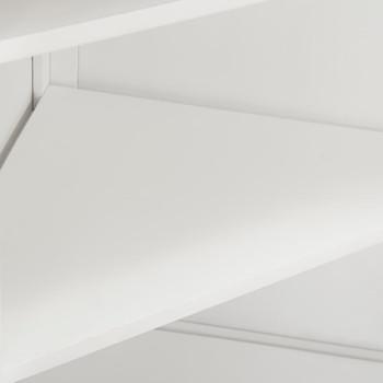 vidaXL Kutni ormarić od masivne hrastovine 59 x 36 x 80 cm