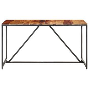 vidaXL Blagovaonski stol 140 x 70 x 76 cm od masivnog drva Ã…Â¡iÃ…Â¡ama