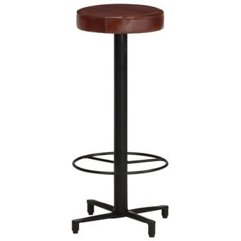 vidaXL Barski stolci od prave kože 2 kom 76 cm