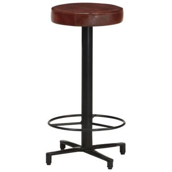 vidaXL Barski stolci od prave kože 2 kom 66 cm