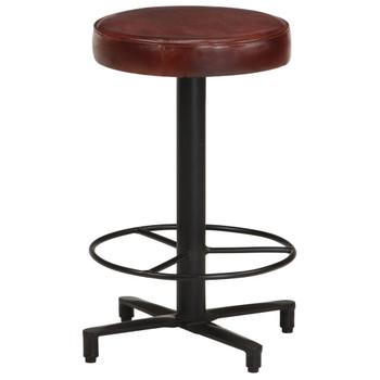 vidaXL Barski stolci od prave kože 2 kom 52 cm