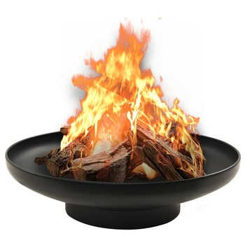 vidaXL Posuda za vatru 59 cm čelična