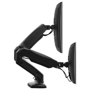 "vidaXL Stolni stalak za TV/monitor 13 - 27 "" s dva kraka s oprugom"