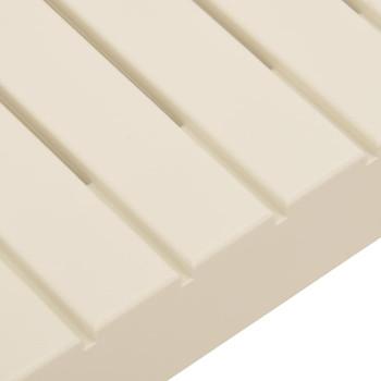 vidaXL Vrtni stolić za kavu plastični bijeli