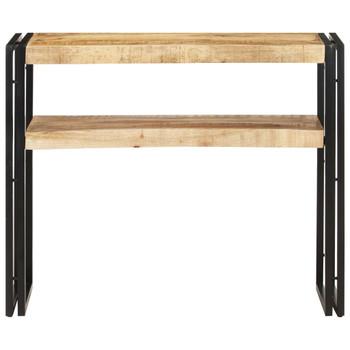 vidaXL Konzolni stol 90 x 30 x 75 cm od grubog drva manga