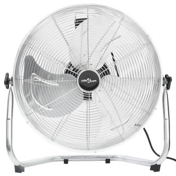 vidaXL Podni ventilator s 3 brzine 55 cm 100 W kromirani