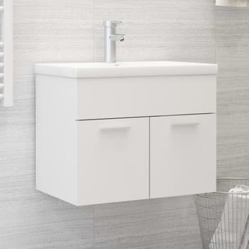 vidaXL Ormarić za umivaonik bijeli 60 x 38,5 x 46 cm od iverice