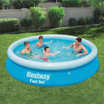Bestway bazen na napuhavanje Fast Set okrugli 366 x 76 cm 57273